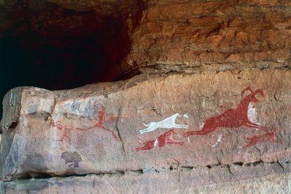 Art rupestre à Akakus, Libye (Liste du patrimoine mondial de l'UNESCO, 1985)
