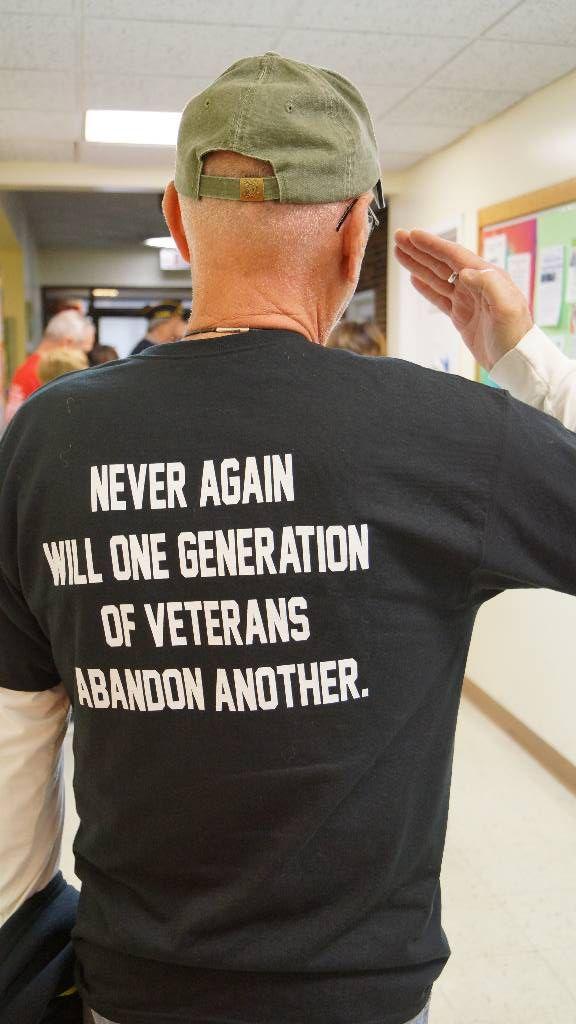 Les vétérans réunis à Niles en hommage à leurs anciens