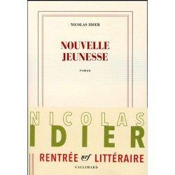 Couverture de Nouvelle Jeunesse, Nicolas Idier, 2016, Gallimard
