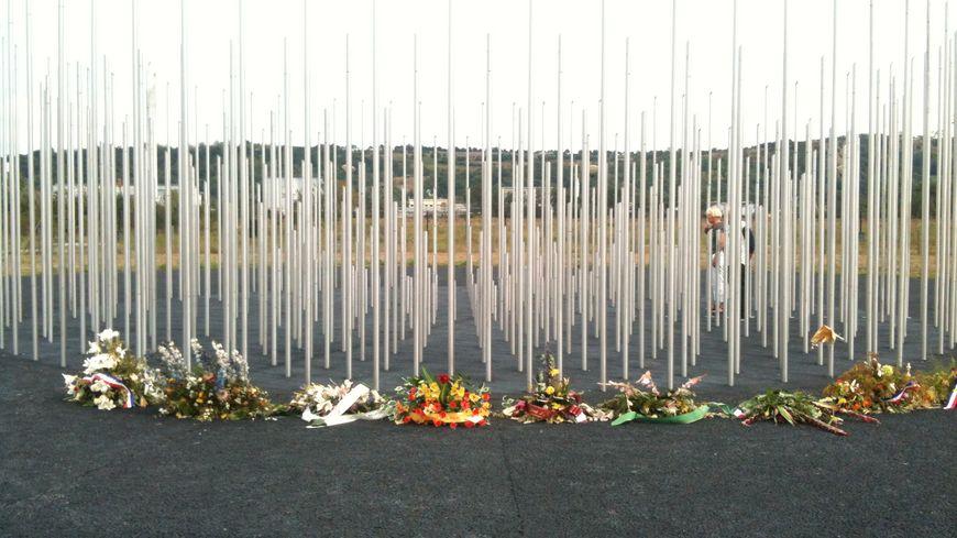 Le mémorial AZF, près de l'Oncopôle