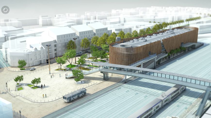 Saint brieuc chantier spectaculaire la gare - Piscine saint brieuc ...