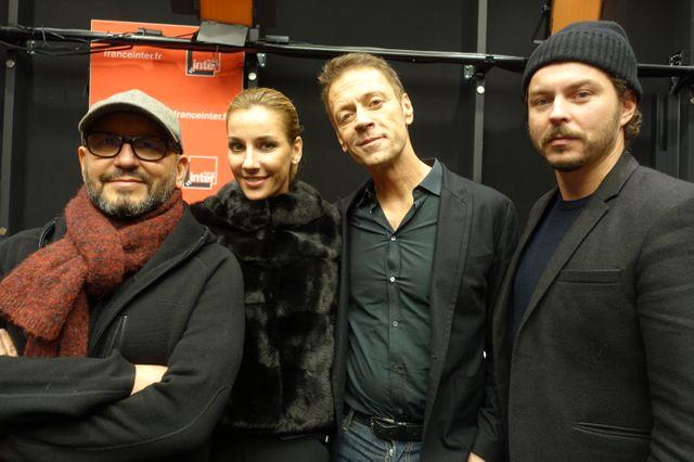 Thierry Demaizière, Rosa Caracciolo, Rocco Siffredi et Alban Teurlai