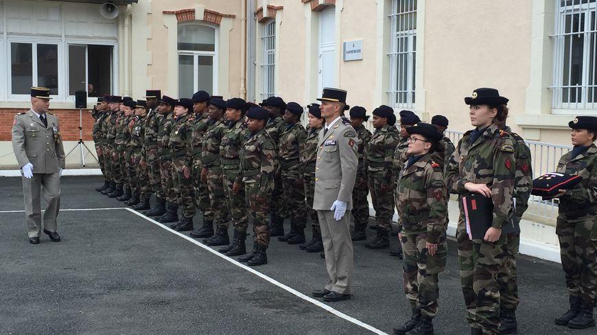 Cérémonie de remise des diplômes au SMA (service militaire adapté) de Périgueux