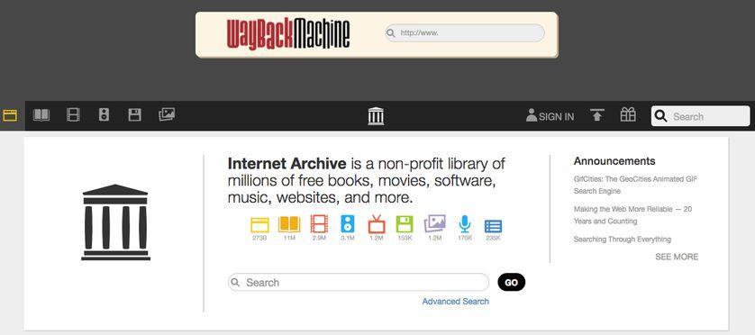 Le projet américain Internet Archive est le premier à s'être lancé dans la conservation du web