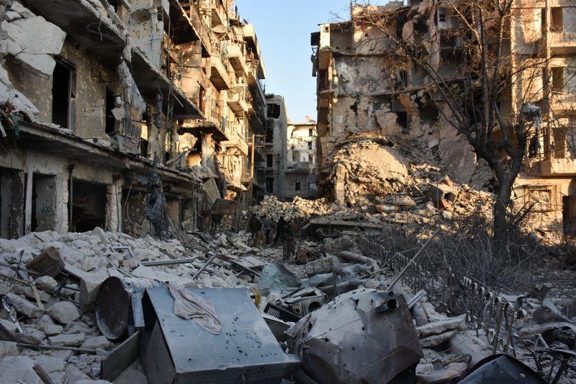 Désolation à Alep, l'ancien poumon économique de la Syrie