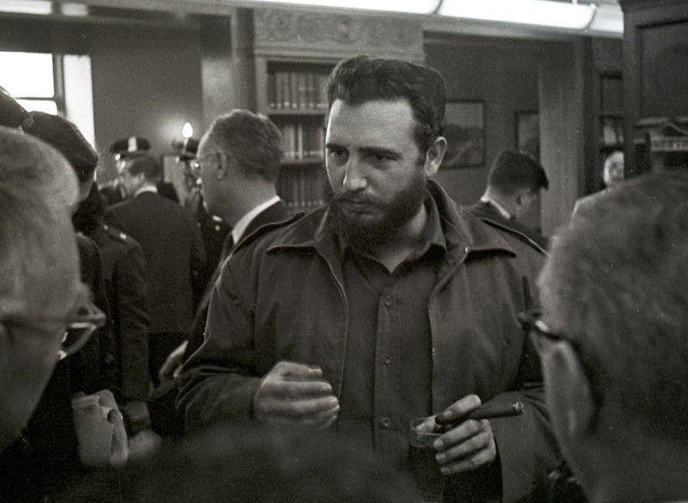 Fidel Castro à Washington en 1969