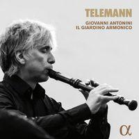 Concerto di camera en sol min TWV 43 : G3 : Allegro - pour flûte à bec 2 violons et basse continue - Giovanni Antonini