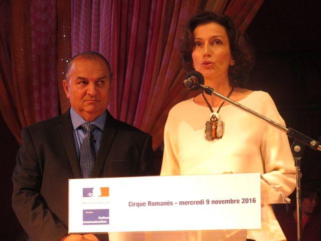 Le Tzigane a reçu la Légion d'honneur en présence de la ministre Audrey Azouley