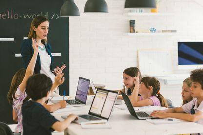 Le plan numérique à l'école initié par François Hollande a été déployé à la rentrée