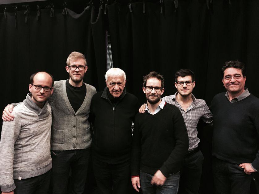 Emile Parisien Quintet, Michel Portal et Gérard de Haro