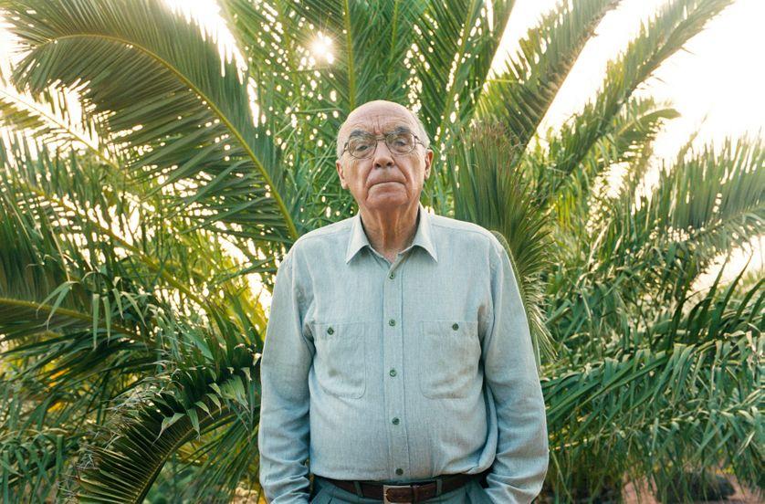 José Saramago à Lanzarote en 2011.