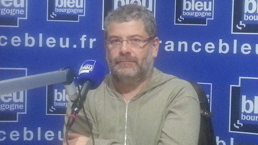 Elie Lambert secrétaire général du syndicat Solidaires en Côte-d'Or