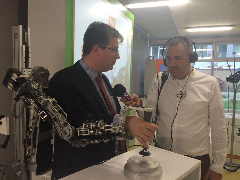 Reportage d'Hakim Kasmi au CEA à Saclay (Commissariat à l'énergie atomique)