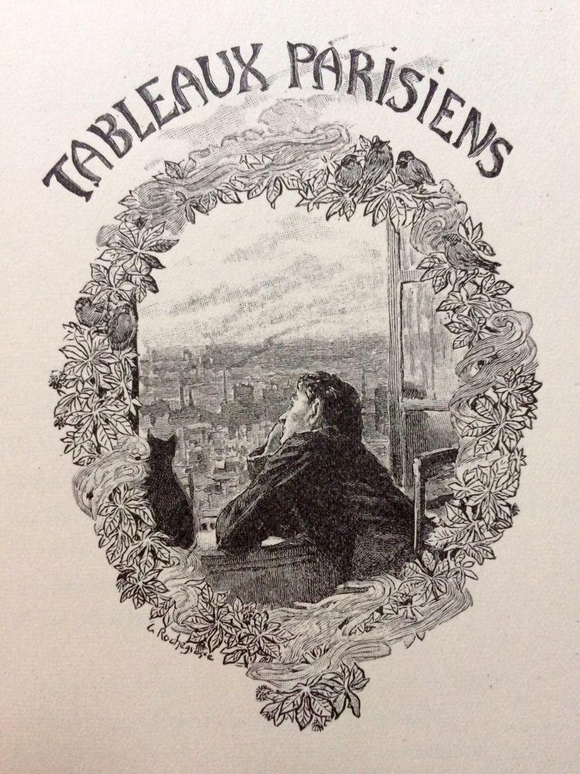 Illustration de Georges Rochegrosse aux Fleurs du mal, Ferroud, 1917.