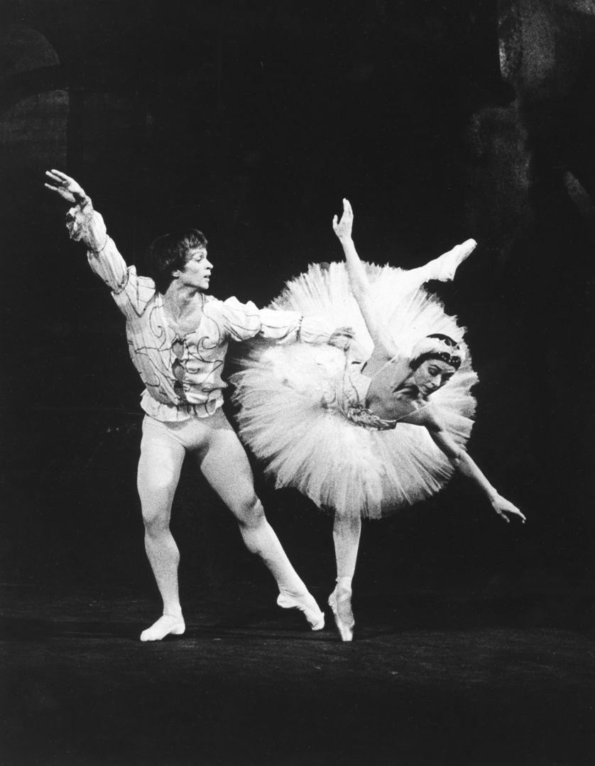 Le Lac des Cygnes dansé en 1966 par Noureev et Margot Fonteyn