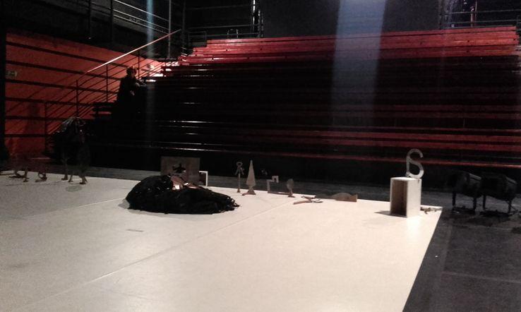 La salle du Théâtre Dunois dans le 13ème arrondissement de Paris qui a perdu 25% de son public après les attentats de Charlie Hebdo
