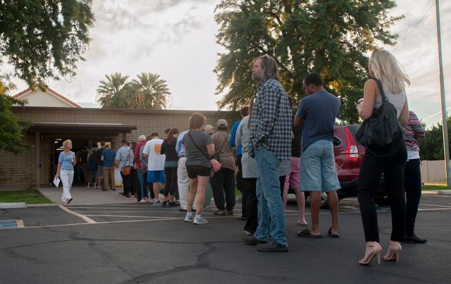 USA 2016 : les Américains votent en masse