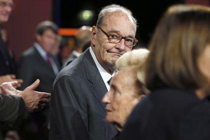 L'ancien président de la République française, Jacques Chirac (novembre 2014)