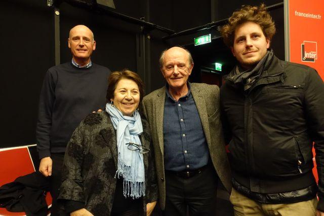 Olivier Griette, Corinne Lepage, Jean-Louis Etienne et Julien Bayou