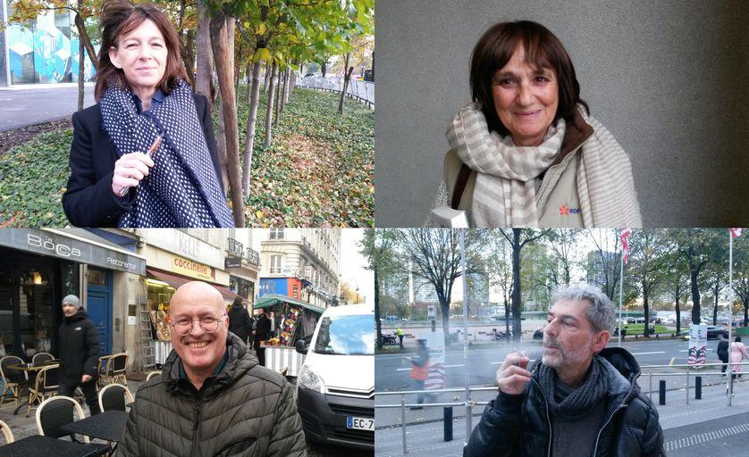 Frédérique, Monique, Philippe et Pierre-Yves témoignent.