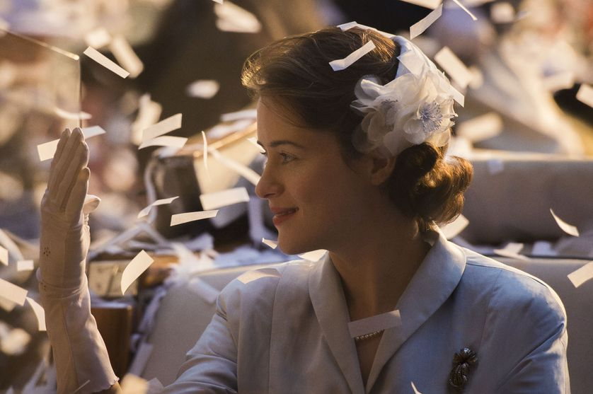 Claire Fox, qui interprête Elisabeth II dans la série The Crown