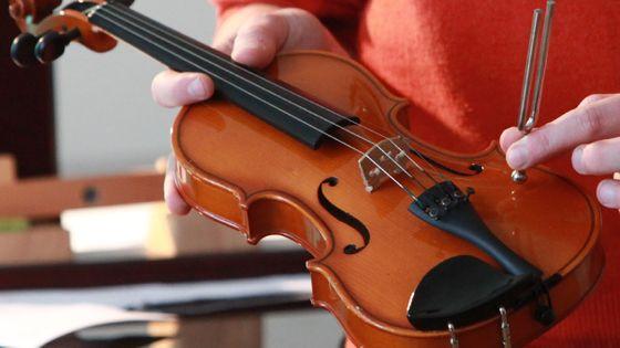 Le La3 correspond à la deuxième corde à vide du violon