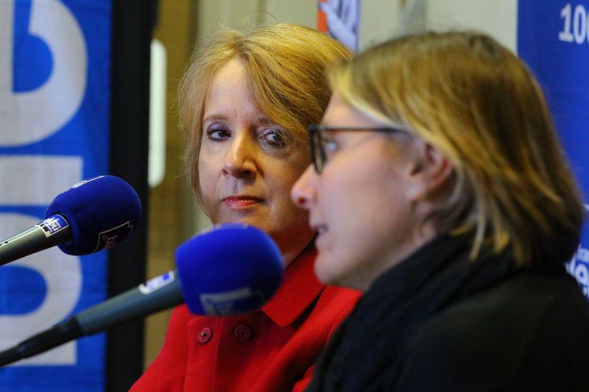 Sylvie Mottes, la présidente du TGI d'Orléans et Véronique Berçot, avocate, invitées de l'émission