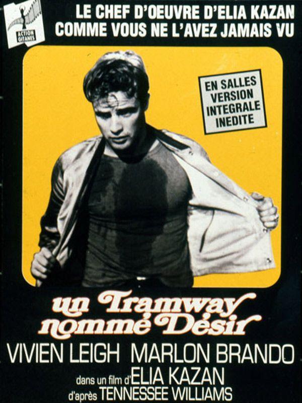 Marlon Brando et le film Un tramway nommé désir