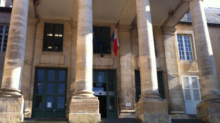 Le palais de justice de Poitiers