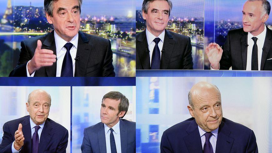 François Fillon et Alain Juppé ce soir sur TF1 et France 2