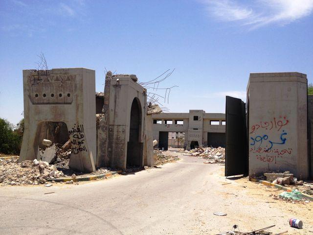 A Tripoli, le bunker du Guide
