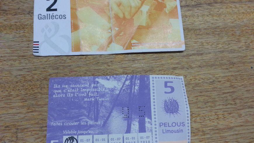 Deux exemples de monnaies locales : le Galléco en Bretagne et le Pélou dans le Limousin