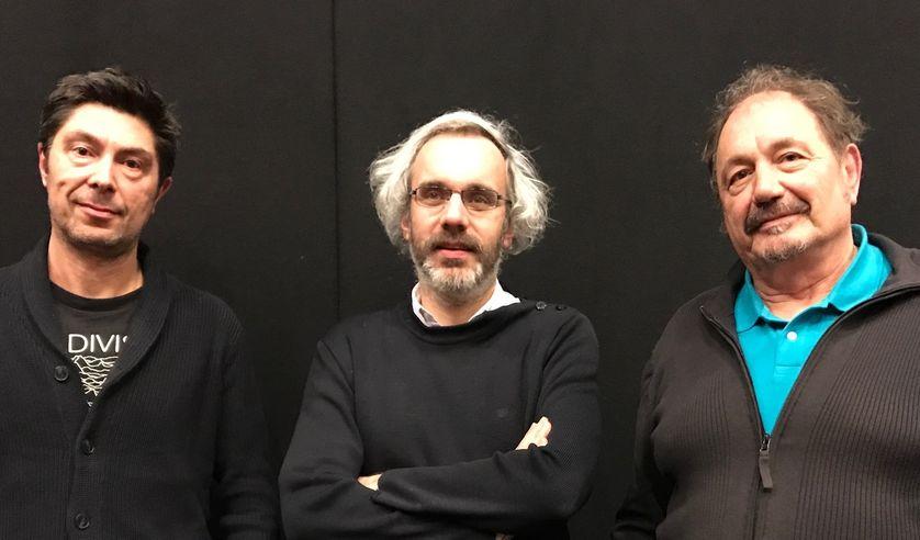 Eric Chauvier, Philippe Vasset et Jean-Claude Poisron