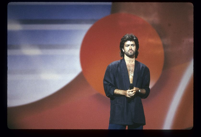 George Michael aux American Music Awards en 1986