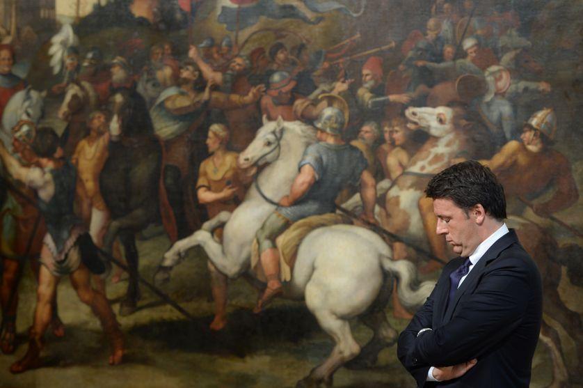 Matteo Renzi à Rome le 5 décembre 2016