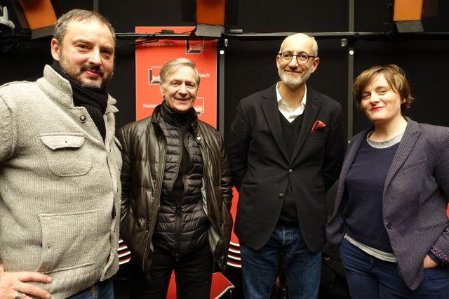 Yan Lindingre, François Boucq, Philippe Ostermann et Lisa Mandel