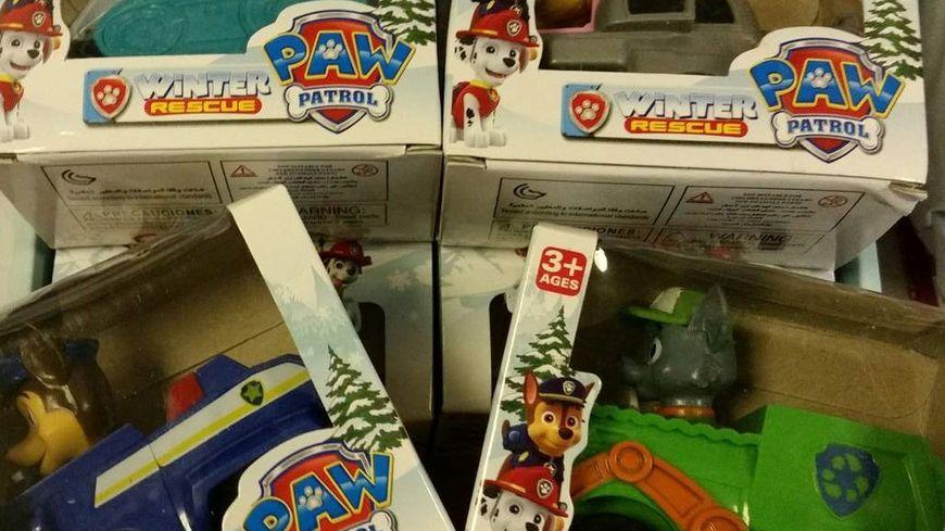 Les douaniers agenais ont intercepté beaucoup de jouets en cette période de fêtes.
