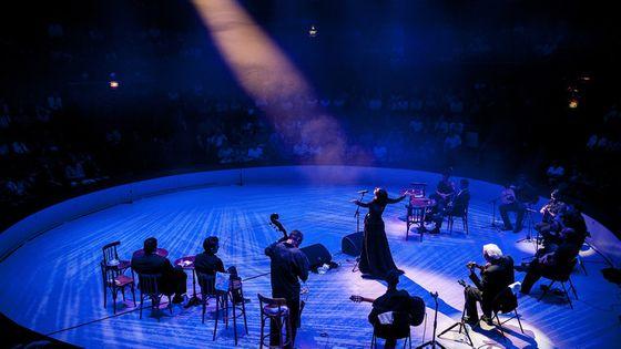 Un des nombreux spectacles musicaux donnés lors de l'édition 2016 du festival d'Ile-de-France
