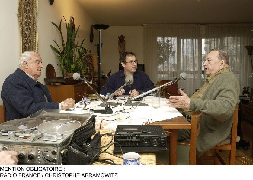 Jean-Pierre Vernant, Emmanuel Laurentin et Jacques Le Goff