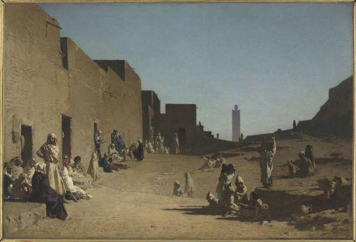 Sahara algérien vers 1879. Par Gustave Guillaumet (1840 - 1887)