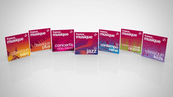 Les 7 webradios thématiques de France Musique