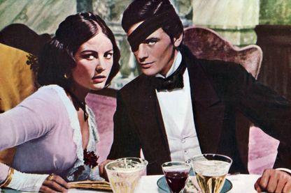 """Image extraite du film """"Le Guépard"""" avec Claudia Cardinale et Alain Delon (1963)"""