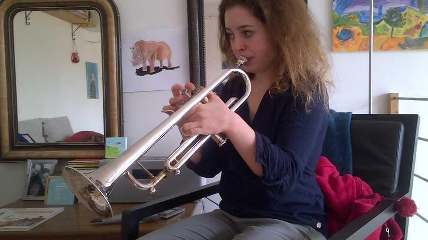 Lucienne Renaudin - Vary a commencé la trompette à l'âge de 9 ans