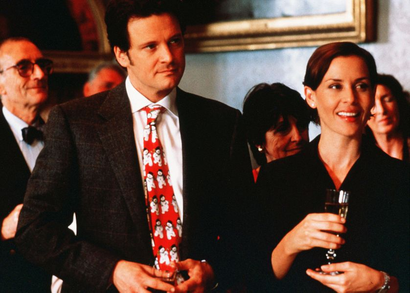 "Mark Darcy (Colin Firth) dans ""Le journal de Bridget Jones""' (Sharon Maguire, 2001)"