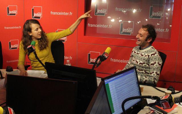 Nicole Ferroni et Augustin Trapenard