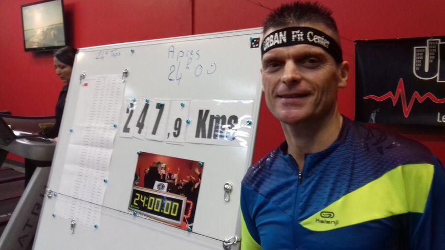 René Lecacheur a parcouru 247,9 kilomètres en 24 heures