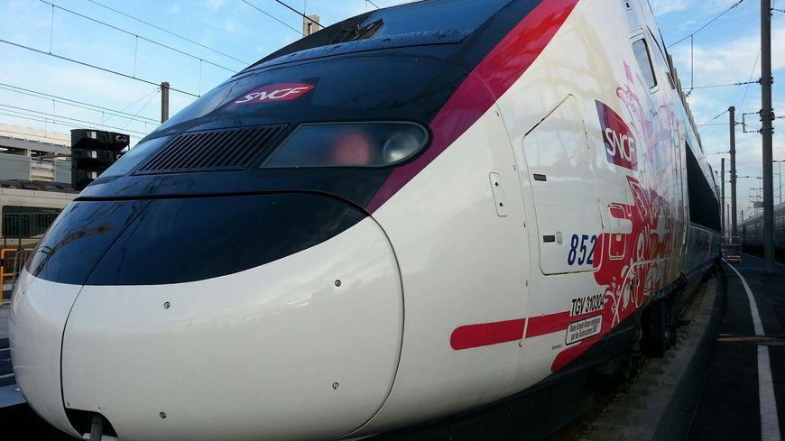 La nouvelle rame TGV l'Océane entre Paris et Bordeaux