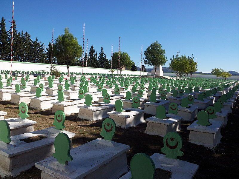 Le cimetière des martyrs