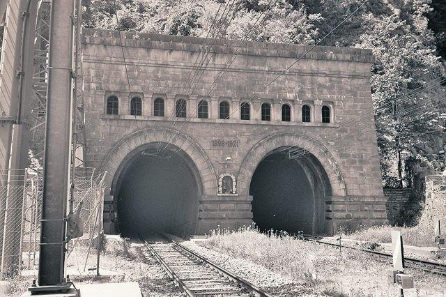 Le tunnel du Simplon