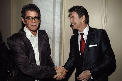 Lou Reed et David Bowie